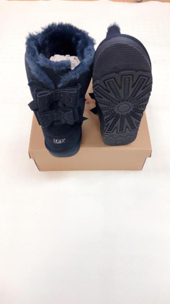 Ladies Ugg Bow diamante boots for sale