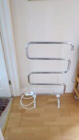 plug in heated towel rail