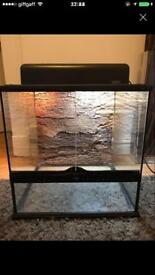 Exo Terra Terrarium & lighting unit 45x45x45cm reptile