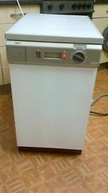 zanussi slimline dishwasher