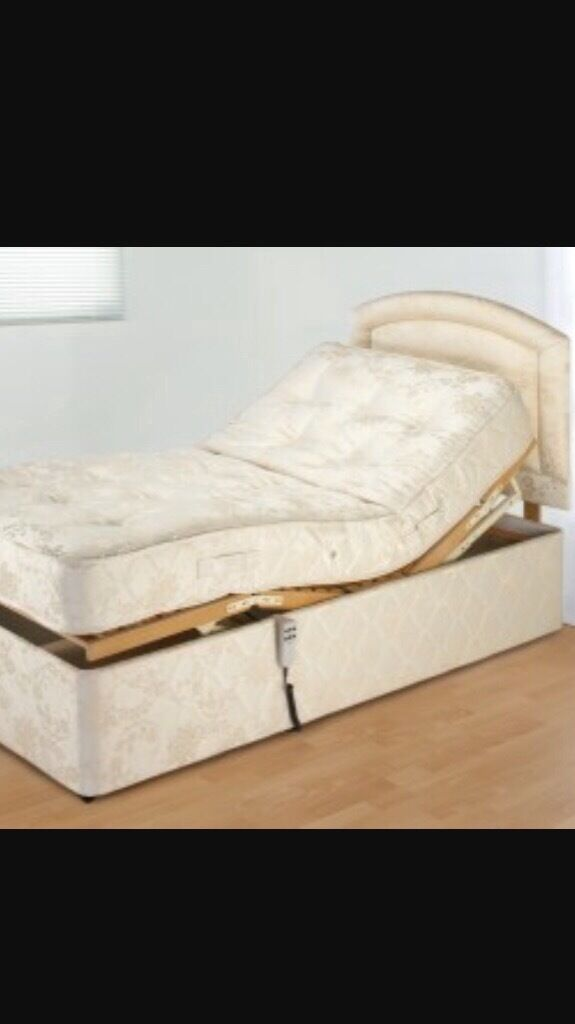 Electric reclining single bed
