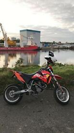 KTM LC4 640 Supermoto-- MAY SWAP FOR 250cc to 45cc MOTOCROSS BIKE