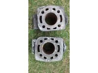 Yamaha RD250LC RD 250 LC 4L1 Pair of barrels cylinders not tuned