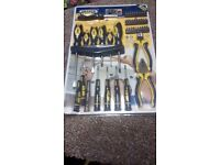 Draper 45piece Screwdriver and Pliers Set- unused/sealed
