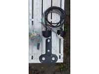 Universal tow bar wiring kit
