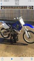 Yamaha yz250 2 stroke dirtbike