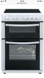 Brand new boxed LOGIK LFTC60W16 60 cm Electric Ceramic Cooker - White