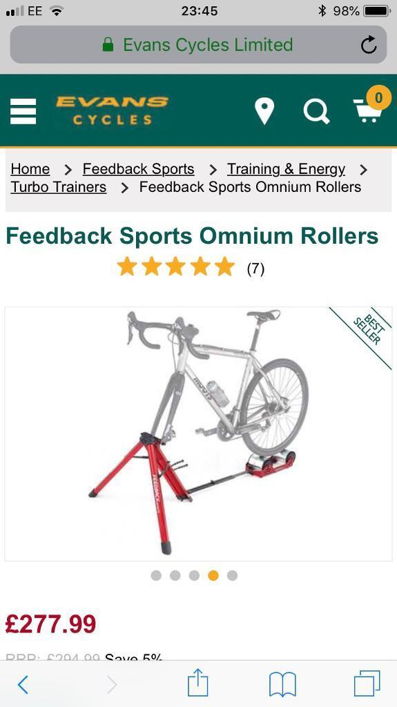 3a48197b97251 Feedback Sports Omnium Rollers | in Newbridge, Edinburgh | Gumtree