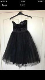 Gorgeous ladies black evening dress size 12