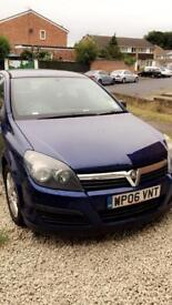 Vauxhall astra 1.4 2006 £850 + any nearest offer or part exchange