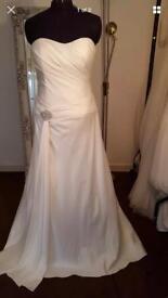 Ivory wedding dress for sale