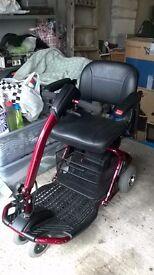 Rascal liteway plus 3 four wheel scooter.