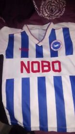 Brighton football shirt 89-91 season 11-12 years size