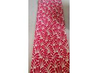 Next Curtains Red - 135 x 229 cm (2 pairs of curtains)