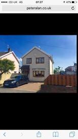 3 bed detached house, Lewis avenue, Bridgend