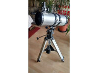 Heavy Professional telescope with extra lenses