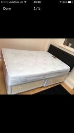 Bubble bed with mattress Good condition