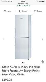 Bosch Fridge Freezer - Frost Free