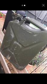 20 ltr jerry can fuel storage petrol deisel Gerry container mini bars breakdown gardener