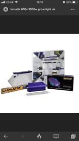 New Lumatik Pro 1000w 400v Grow Light Kit £300 BARGAIN!