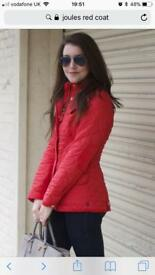 Joules Red Coat