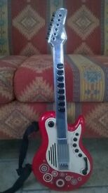 ELC Childs Guitar with Microphone and Glasses.