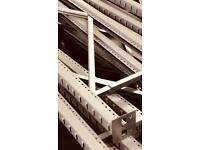 Shelving racking shipping container garage warehouse shop Longspan stock