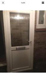 Upvc front door white width 920 height 2060