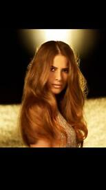 Pre bonded and weft hair extensions mobile service