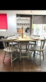Fantastic Shabby chic table and chairs