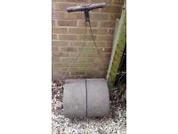 Metal garden roller