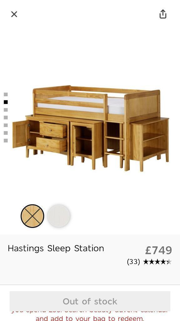 M&S Cabin Bed