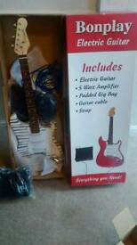 Electric guitar - brand new