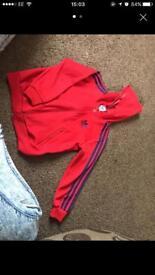 Adidas jacket 7-8 yrs
