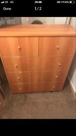 Fold away cabinet bed