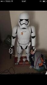 3ft Storm trooper with sounds