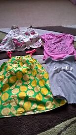Massive, varied bundle of girls clothes 7 years plus, see Description