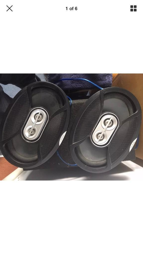 """Infinity Reference Series 9613i speakers, they are 6"""" x 9"""", 100W RMS and 300W Peak good condition"""