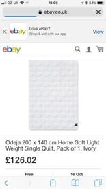 Odeja soft medium quilt brand new