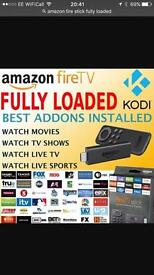 Amazon Firestick Fully Loaded