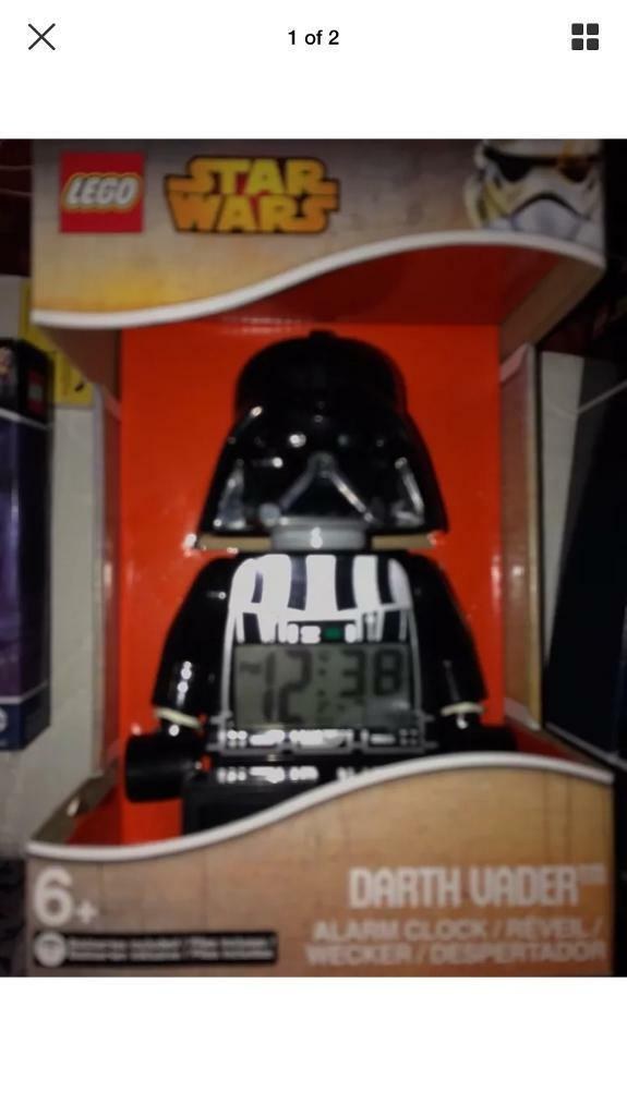 Darth vader lego clock new