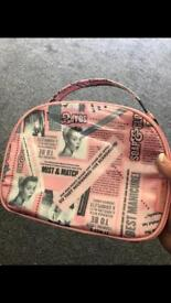 Soap & glory toiletries bag