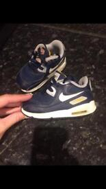 Boys Nike air max size 5.5