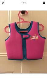 Girls zoggs swimming vest age 2/3yrs