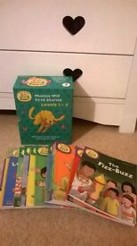 biff & chip phonics & first stories - levels 1-3
