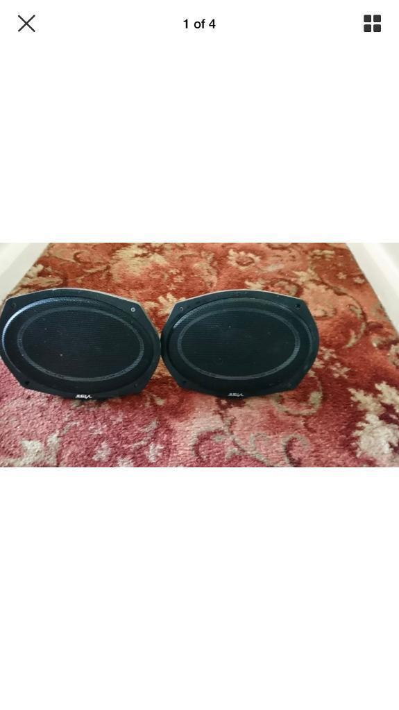 Vibe slick 6x9 speakers - 420 watts