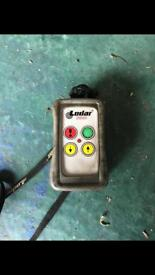 Lodar remote (perfect working order) with lanyard