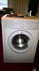 Indesit washing machine 6kg A Class, approximately 3 years old, in excellent working condition