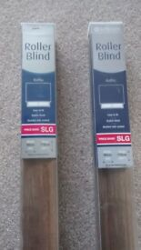 Pair of Roller Blinds - 900mm