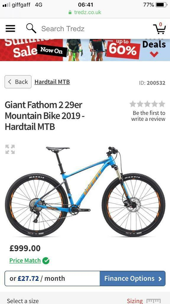 Brand new Giant Fathom 2 29er Mountain Bike 2019 Seatpost Dropper | in  Bolton, Manchester | Gumtree